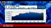 13/04/2016 - Le banche fanno volare le Borse, Milano sfiora 4 per cento