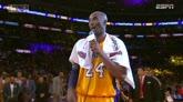 "Kobe Bryant saluta i tifosi: ""Vi amo"""