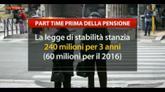 14/04/2016 - Lavoro, arriva il part time a ridosso della pensione