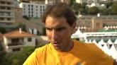 """14/04/2016 - Montecarlo, Nadal: """"Ho vinto una sfida difficilissima"""""""
