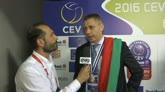 17/04/2016 - Volley, l'amarezza della Diatec per la finale persa