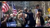 Usa, 2016: Clinton balla il merengue sul palco