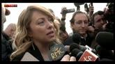 21/04/2016 - Roma Giorgia Meloni a Sky TG24: non aspetto più nessuno
