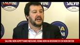 22/04/2016 - Salvini: battaglia per Roma comincia, perso fin troppo tempo