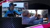 24/04/2016 - GP Spagna, Bulega che emozione: l'abbraccio di Valentino