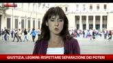 """24/04/2016 - Alfano avverte Davigo: """"I pm non contrastino i governi"""""""