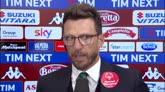 """24/04/2016 - Di Francesco: """"Abbiamo vinto su un campo difficile"""""""