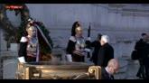 25/04/2016 - 25 aprile, sull'Altare della Patria le note del Silenzio