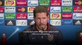 """27/04/2016 - Simeone ci crede: """"Abbiamo una grande occasione"""""""