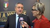 27/04/2016 - Barelli, Presidente Federnuoto, applaude la Pellegrini