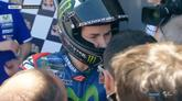 Yamaha, box bollente dopo la vittoria di Rossi a Jerez