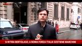 28/04/2016 - Roma: Bertolaso si ritira, Fi sostiene Marchini