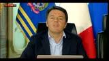 """28/04/2016 - Corruzione, Renzi: """"Voglio che si vada a sentenza"""""""