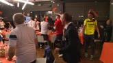 30/04/2016 - Crotone, dopo la promozione la festa al ristorante
