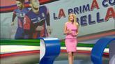 30/04/2016 - Diletta Leotta dagli studi Sky celebra la favola del Crotone