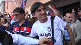30/04/2016 - Tutto l'affetto dei tifosi per il Crotone