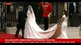 30/04/2016 - William e Kate, cinque anni fa il matrimonio da favola