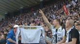 30/04/2016 - Udine festeggia comunque: entusiasmo che fa ben sperare