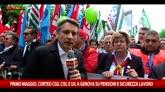 """01/05/2016 - Camusso: """"Governo sottovaluta problema del lavoro"""""""