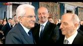 01/05/2016 - 1° Maggio, Mattarella: creare lavoro impegno costituzionale