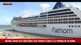 02/05/2016 - Miami, crociera Usa verso Cuba. Prima volta in 50 anni