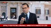 03/05/2016 - Arresto sindaco Lodi, M5S all'attacco del Pd
