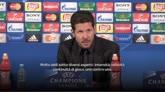 """04/05/2016 - Simeone: """"Vinto contro una squadra straordinaria"""""""