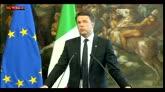 05/05/2016 - Brennero, Renzi: netto dissenso e stupore per scelte Austria