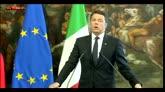 05/05/2016 - Renzi: non c'è condivisione Germania su Eurobond