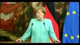 05/05/2016 - Migranti, Merkel: non possiamo chiudere i confini