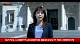 """06/05/2016 - Caso Morosini, Legnini: """"Inaccettabile attacco al governo"""""""