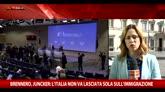 06/05/2016 - Intesa Merkel-Renzi sul Brennero, distanze sugli Eurobond