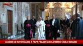 06/05/2016 - Vertici Ue in Vaticano, migranti al centro dei colloqui