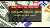 12/05/2016 - Corruzione costa ogni anno fino a 2mila miliardi di dollari