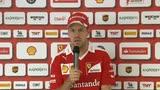 "12/05/2016 - Caso Kvyat-Verstappen, Vettel: ""Ecco come la penso"""