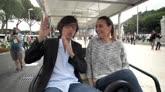 13/05/2016 - Flavia & Francesca, quanti fan per loro al Foro Italico