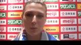 """15/05/2016 - Volley, Guiggi: """"Con la Thailandia è stata dura"""""""