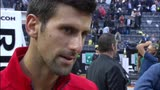 "15/05/2016 - Djokovic: ""Murray ha meritato"""