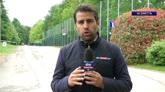 19/05/2016 - Berlusconi a Milanello carica la squadra per Coppa Italia