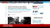 19/05/2016 - Addio a Pannella, Antonio Ferrari: Fu contro guerra in Iraq