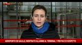 20/05/2016 - Egyptair, rafforzate misure sicurezza al Charles de Gaulle