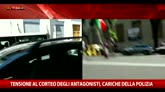 21/05/2016 - Scontri al corteo degli antagonisti: assalto a un furgone