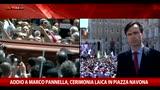 21/05/2016 - Funerali Pannella, l'intervento di Emma Bonino