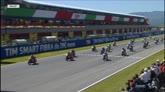 Moto3, la partenza del GP d'Italia
