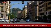 22/05/2016 - Coppa Italia: assalto tifosi Milan a pub, 2 accoltellati