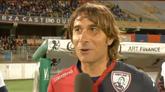23/05/2016 - Cagliari, l'emozione di Daniele Conti al suo addio