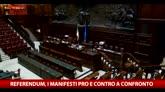 24/05/2016 - Referendum, i manifesti pro e contro a confronto