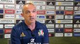 24/05/2016 - Rugby, O'Shea si presenta: farò Italia più forte di sempre