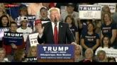 25/05/2016 - Trump vince nello stato di Washington, scontro con Clinton