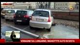 25/05/2016 - Voragine sul Lungarno a Firenze, nessun ferito